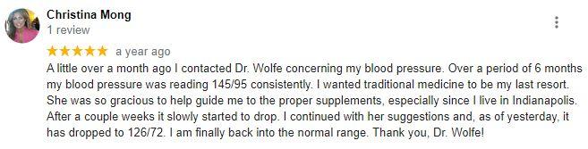 Chiropractic Boulder CO Wolfe Functional Medicine Testimonial